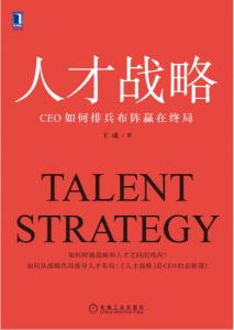 人才战略 : CEO如何排兵布阵赢在终局